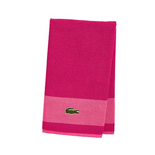 Lacoste Handtücher 30x52 Magenta