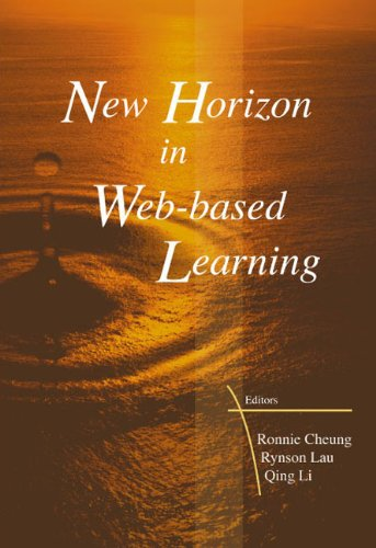 New Horizon In Web Based Learning Proceedings Of The 3rd International Conference On Web Based Learning Icwl