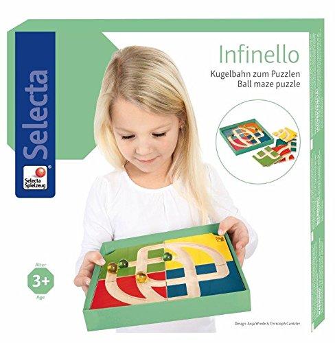 Selecta Spielzeug 2481.0 - Infinello Kugelbahn