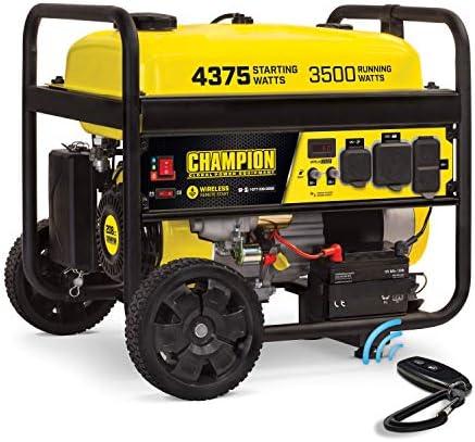 Champion Power Equipment 100554 4375 3500 Watt RV Ready Portable Generator with Wireless Remote product image