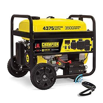 Champion Power Equipment 100554 4375/3500-Watt RV Ready Portable Generator with Wireless Remote Start CARB