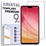 REY Protector de Pantalla para XIAOMI MI 8 Lite - MI8 Lite - MI8X - MI 8X, Cristal Vidrio Templado Premium