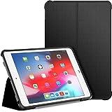 JETech Funda Compatible iPad Mini 5 y iPad Mini 4 (2019/2015 Model, 5th/4th Generacion), Soporte de Doble Plegables y Contraportada de TPU a Prueba de Choques, Auto-Sueño/Estela, Negro
