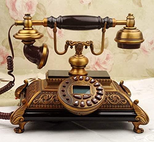 TAIDENG Adornos telefónicos Decorativos Regalo para la decoración del hogar [Moda], [Creación], Estilo Europeo [Rural], decoración, [Retro], Adorno de decoración de Escritorio para el hogar.