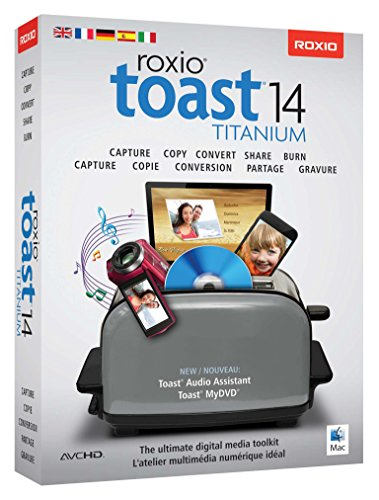 COREL Roxio Toast 14 Titanium Mini Box EU EN / FR / DE / IT / ES