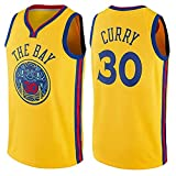 DIMOCHEN Movement Ropa Jerseys de Baloncesto para Hombres, NBA Golden State Warriors # 30 Kevin Durant,Fresco, cómodo, Camiseta Uniformes Deportivos Tops(Size:XXL,Color:G1)