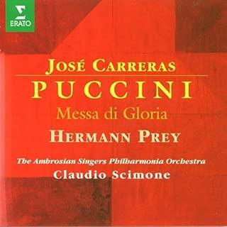 Puccini - Messa di Gloria / Carreras · Prey · LPO · Scimone