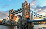 Zopix Premium Poster Tower Bridge London Abend England