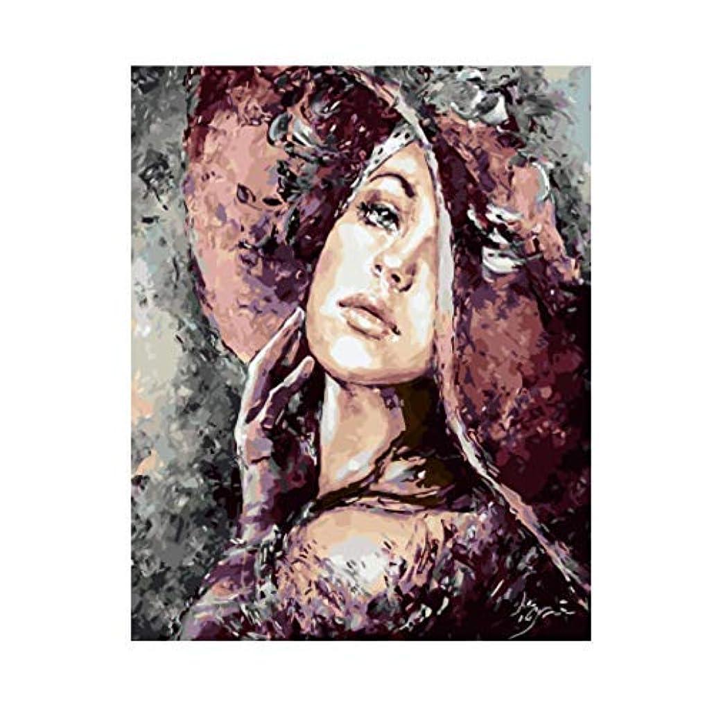 定義実り多いベットキャンバスの表面に壁画絵画写真プリント 数字でペイント写真数字の数字による絵画手描きキャンバスに油絵キャンバス家の装飾フレームなし キャンバスに壁アートの装飾ポスターアートワークホームオフィスの装飾の写真ウォールアート (色 : Frameless)