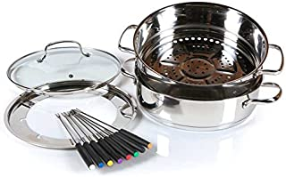 Best nuwave ultimate cookware steamer and fondue set Reviews
