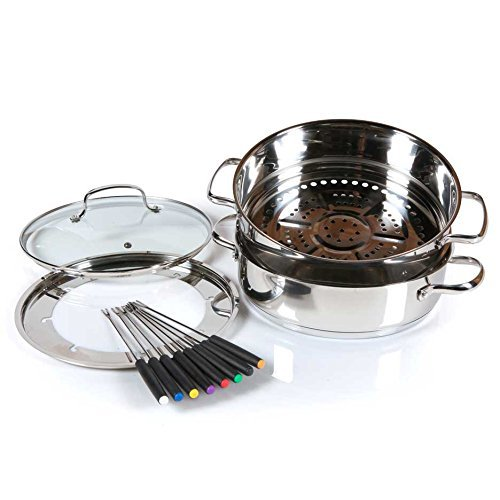 NuWave Ultimate Cookware Steamer and Fondue Set PIC