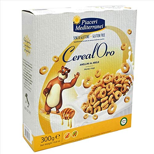 Mediterranei CerealOro ringen met honing, 300 g
