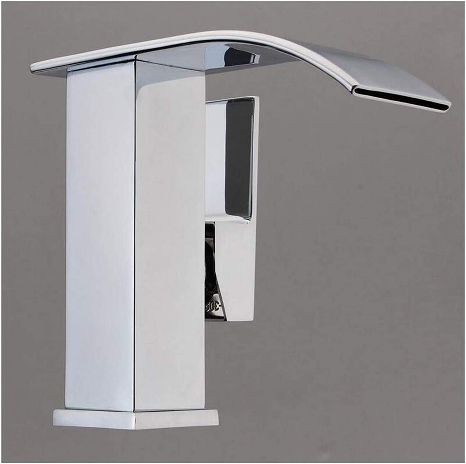 Kitchen Bath Basin Sink Bathroom Taps Taps Mixer Faucet Sink Chrome Waterfall Basin Sink Faucet Ctzl0563