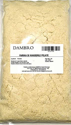 Harina de Almendras - Almendra molida de California - 1Kg