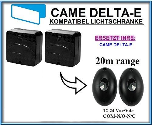 Came DELTA-E kompatibel lichtschranke, paare von äußere universale Fotozellen / Infrarot IR Sicherheit Sensor 12 -24 Vac/Vdc, NO/NC. Reichweite: bis 20m!!!