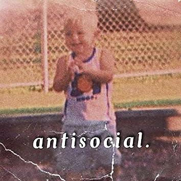 antisocial.