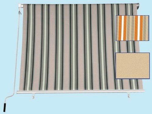 FRASCHETTI Tenda da Sole a Caduta Misura 200x250H cm Colore Giallo/Beige - Tessuto 280gr/mq