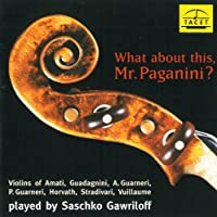 What About This Mr. Paganini
