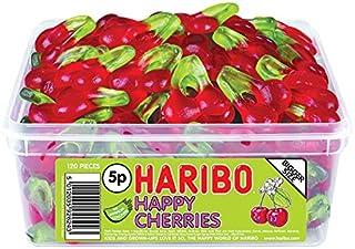 Haribo Happy Cherries 120 Tub