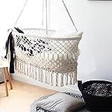 Here&There Baby Wiege Aufhängen Bette Hängematte Wiegen Babywiege Kinderbett Quaste Brasil Comfort Gitterbett Miansheng Webart (C#)