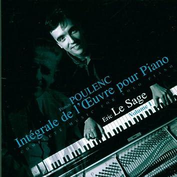 Poulenc - Piano Music, Vol. 1