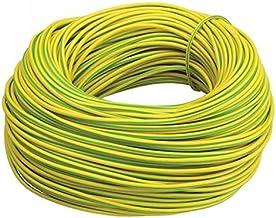 Elektrische PVC Geel/Groene Aarde Slapen - 2mm, 3mm, 4mm - Volledige Rollen en Diverse Gesneden Lengtes Beschikbaar