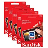 Best SD Cards - 5 Pack Sandisk 8GB 8 GB SD SDHC Review