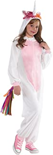 SP Funworld Girls Unicorn Onesie Pajamas Girls Unicorn Christmas Costume L(12-14)