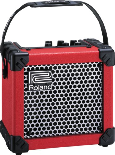 Roland Micro Cube Guitar Amplifier Red