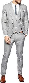 Burgundy Mens Suit Burgundy Peak Lapel Men Sui 3 Pieces Wedding Suits Groom Tuxedos