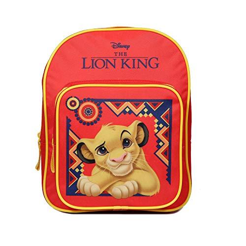 Bagtrotter: Mochila infantil  31 cm   diseño de El Rey León  color rojo