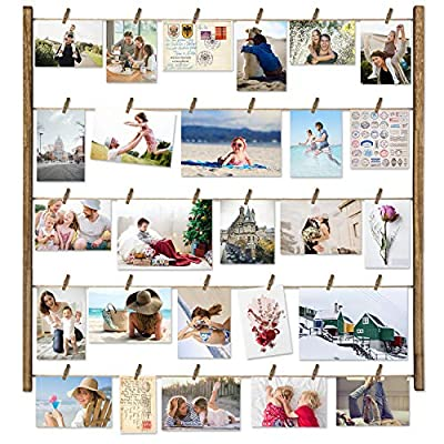 Love-KANKEI Wood Picture Photo Frame for Wall Decor