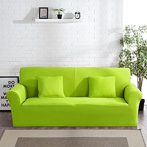 PPOS Funda de Licra para sofá, Muebles, sillón, Sala de Estar Moderna, Funda para sofá, Funda elástica para sofá, A5, 3 Asientos, 190-230cm-1pc