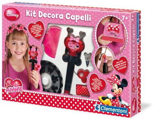 Clementoni 15894 Minnie – Set pour décorer Ton Cheveux