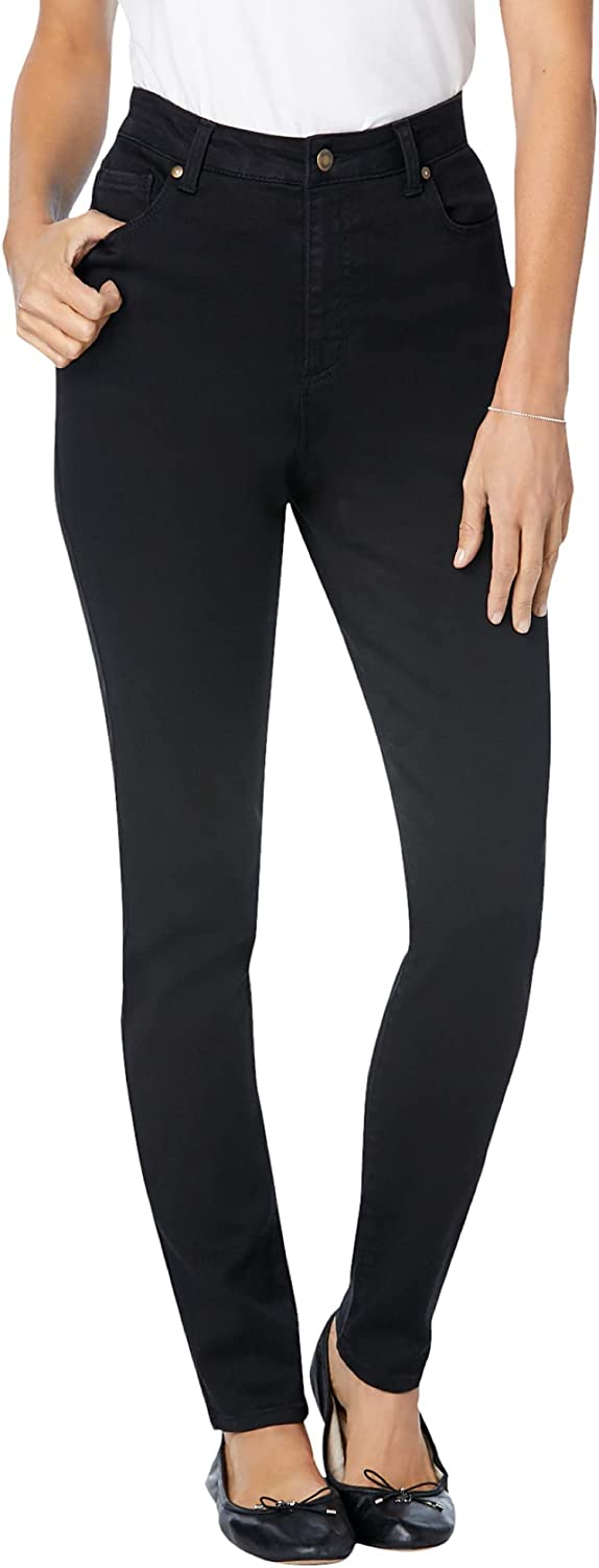 Woman Within Women's Plus Size Tall Perfect Straight Leg Jean