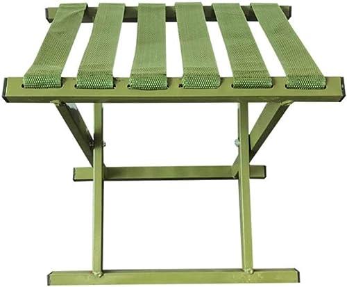 YLYWCG Chaise Pliante portable Extérieur Pliant Tabouret De Pêche Chaise Croquis Chaise Chaise à Main Mazar Enfants Tabouret 26.5cmx27cmx21.5cm Vert