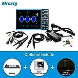 Micsig Digital Smart Oscilloscope 100/150MHz 4/2CH STO1000C (STO1104C+ Battery + 5 Serial decoding...