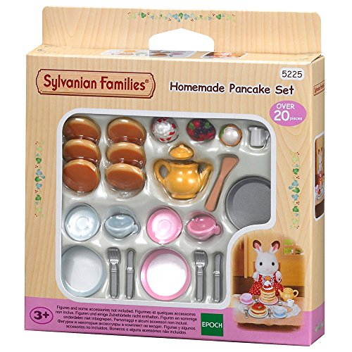 Sylvanian Families 5225 Pfannkuchenset - Puppenhaus Einrichtung Möbel