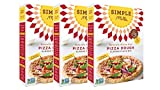 Simple Mills Almond Flour Mix, Pizza Dough, 9.8 Ounce (Pack of 3)