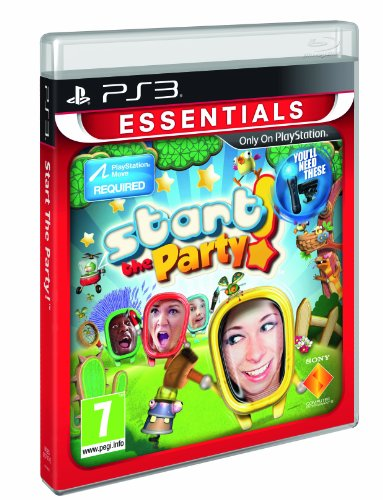 START THE PARTY PS3 ESSENTIALS