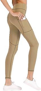 Dawwoti Yoga Leggings for Women High Waist Yoga Leggings Tummy Compression Yoga Leggings