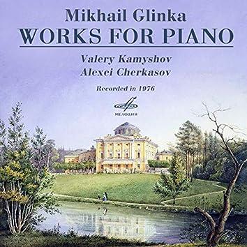 Glinka: Works for Piano