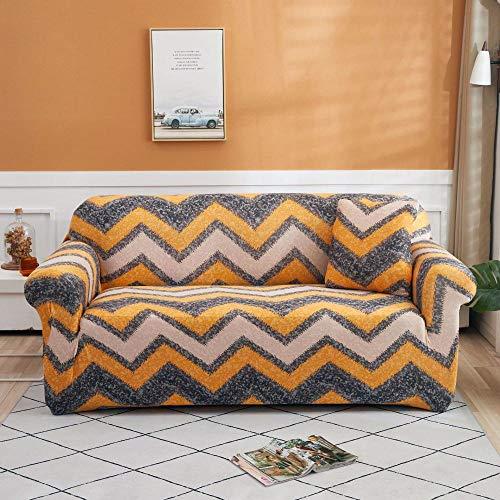 Funda de Sofá Elástica Fundas de sofá de Esquina de 3 plazas Fundas de sofá universales para Sala de Estar, Funda de sofá elástica Toalla Funda de sofá de Esquina 190-230cm I