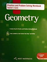 Holt McDougal Geometry: Practice and Problem Solving Workbook Teacher Guide