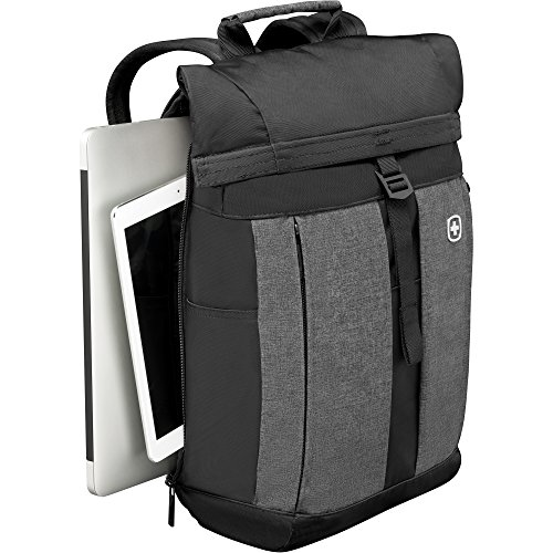Wenger 601058 METRO 16' Flapover Laptop Backpack , Padded laptop compartment with...