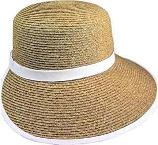 Sun Hat for Women – Cappelli Straworld – Natural Toyo Straw Facesaver