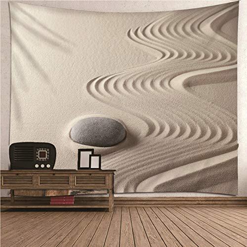 Bishilin Tapiz Pared Piedra del Desierto, Tapestry Vintage Pared de Hogar, Pareo/Toalla de Playa Grande, Sofá- 260x240CM