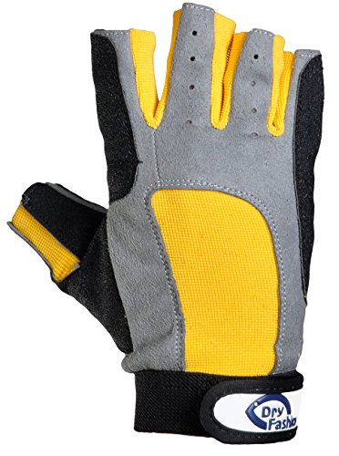 Dry Fashion Damen Herren Protection Segelhandschuhe 5 Finger frei Boot Segeln, Größe:XL