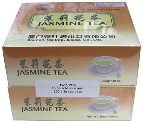 200 China Jasmine Green Teabags - 400g - Sea Dyke Brand