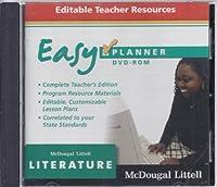 Literature Easyplanner, Grade 8 [DVD]